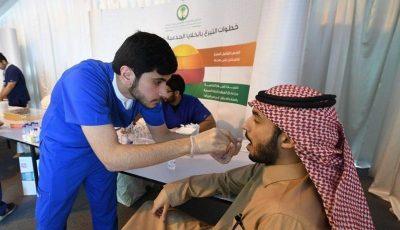 ألف متبرع للخلايا الجذعية في أول أيام مهرجان الجنادرية