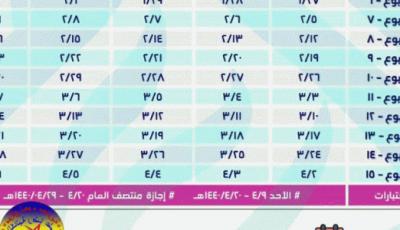 موعد بداية الدراسة بالمملكة العربية 1441 والتقويم الهجري الدراسي
