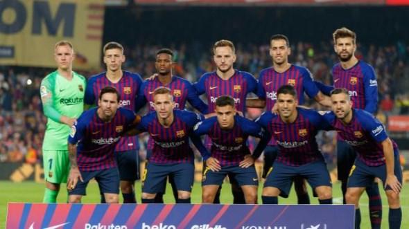 نتيجة مباراة برشلونة وبلد الوليد اليوم السبت 16/2/2018 في الدوري الاسباني