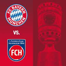 شاهد مباشر مباراة بايرن ميونيخ وهايدنهايم الان كأس المانيا