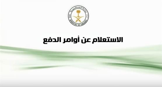 رابط استعلام أوامر الدفع إلكترونيا لدى وزارة المالية في السعودية