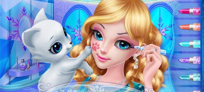لعبة تلبيس عرائس للبنات Ice Princess Sweet Sixteen
