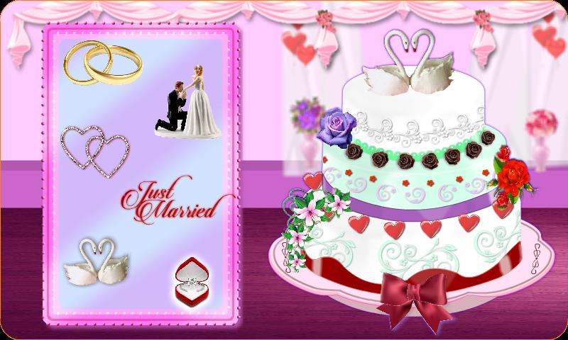 العاب بنات طبخ كعكة الزفاف