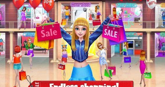 العاب بنات هاي والعاب تسوق ومميزات لعبة Shopping Mania-black Friday fashion Mall Game