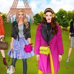 العاب بنات ومميزات لعبة رحلة الموضة لندن، باريس، ميلان، نيويورك