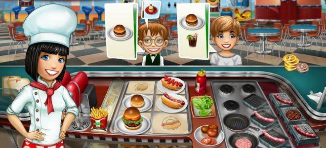 تحميل العاب بنات ومميزات لعبة حمى الطهي وإسمها أيضا Cooking Fever