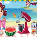 العاب طبخ منزلية تجهيز المطبخ وشراء الخضراوات وطريقة العمل