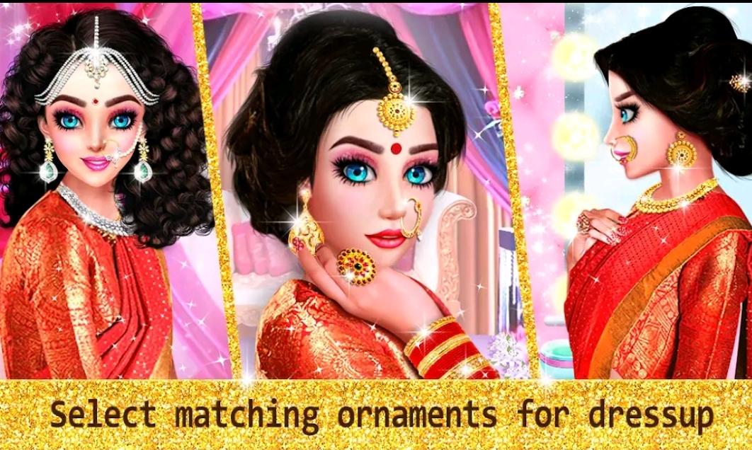 تحميل العاب بنات جديدة من أجمل موقع العاب بنات تلبيس وتزيين العروس الهندية 2021 العاب جديده