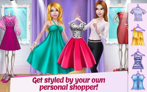 تحميل العاب بنات هاي ما هي Shopping Mall Girl – Dress Up & Style Game2021 المجانية من جوجل بلاي العاب أون لاين