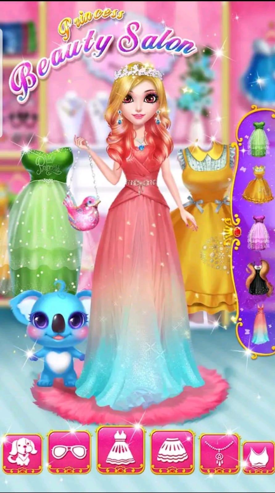 ألعاب بنات مكياج وتحميل لعبة Princess Beauty Salon 2020