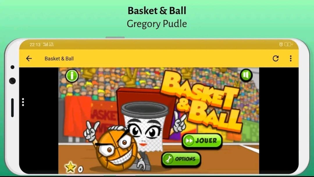 """العاب ماهر رياضة أون لاين المجانية """" Basket & Ball free Game Online """" العاب جديده"""