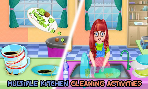 أحدث العاب بنات لغسل الصحون 2021 للتحميل السريع والمُباشر مجاناً العاب اطفال جديده