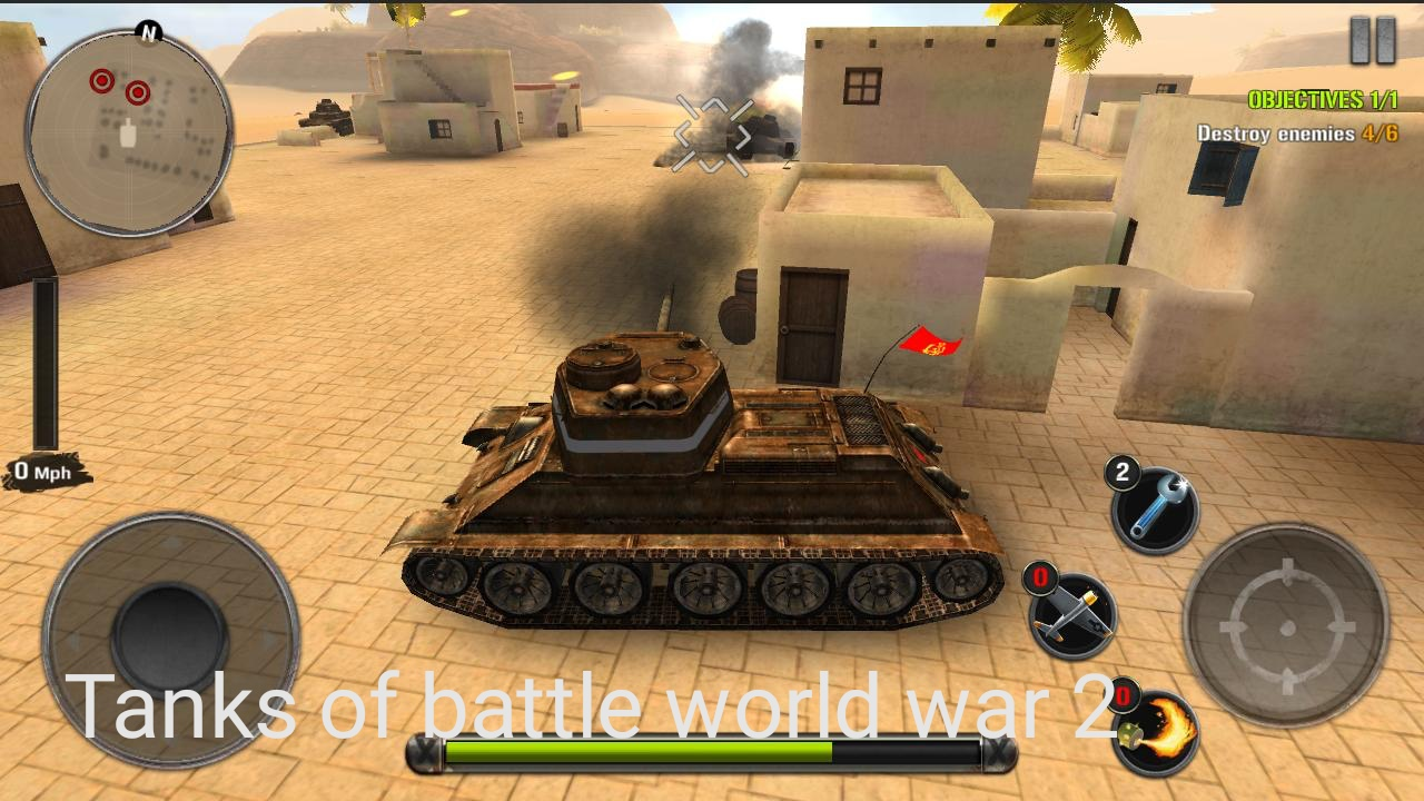 Tanks of battle world war 2