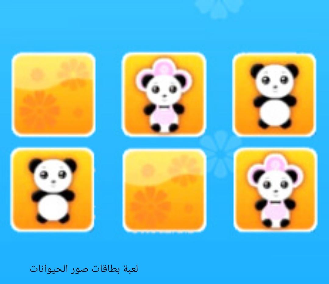 لعبة بطاقات الحيوانات