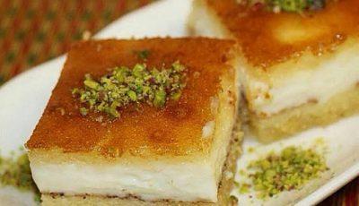 طريقة عمل البسبوسة بالكريمة…أشهر حلويات رمضان2021