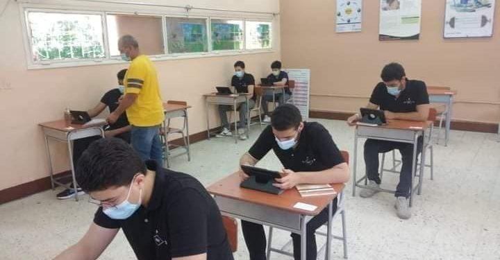 امتحانات الثانوية العامة في لجان بالمدارس مؤمنة