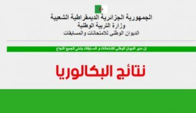 ظهور نتائج البكالوريا 2021 في الجزائر برقم التسجيل