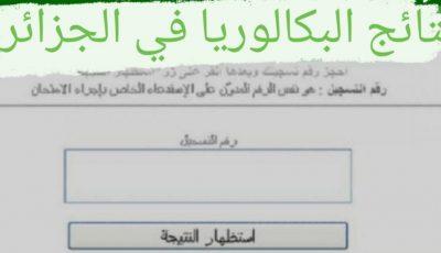 طريقة الحصول علي نتائج البكالوريا 2021 في الجزائر برقم التسجيل في جميع ولايات الجزائر