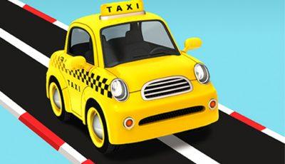 لعبة التاكسى المجنون العاب سيارات أونلاين Taxi Run – Crazy Driver