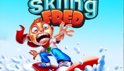 لعبة تزلج فريد العاب مغامرات اونلاين Skiing Fred