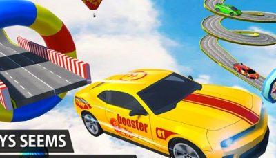 لعبة جنون السيارات المثيرة ألعاب سيارات أونلاين Crazy Car Stunts 2021 – Car Games
