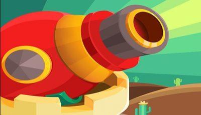 لعبة المدافع العاب اكشن اونلاين مجانية Cannons