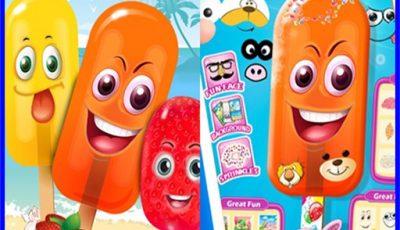 لعبة المصاصات السعيدة العاب اطفال اونلاين مجانية Happy Popsicle