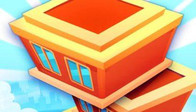 لعبة بناء البرج العاب اونلاين مجانية BUILD TOWER