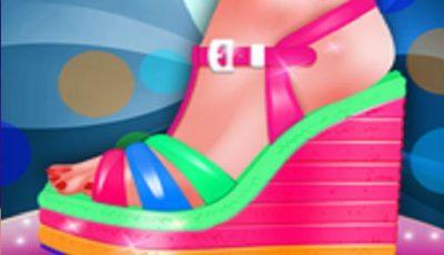لعبة تصميم أحذية الصيف ألعاب أونلاين للبنات Fashion Shoe Designer Little Tailor