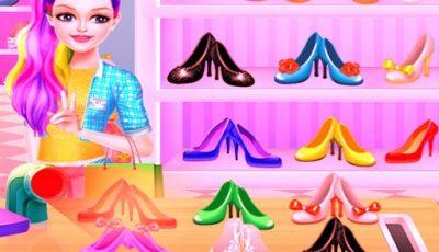 لعبة مصمم الأحذية الصغير العاب تلبيس للبنات اونلاين Little Shoe Designer – Fashion World
