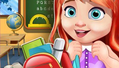 لعبة ديكور مدرسة الدمية العاب بنات اونلاين مجانية My School Doll House Games