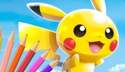 لعبة تلوين بوكيمون العاب تلوين اونلاين مجانية Pokémon Coloring Book Game