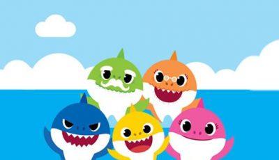 لعبة تلوين بيبى شارك العاب تلوين اونلاين مجانية Baby Shark Coloring