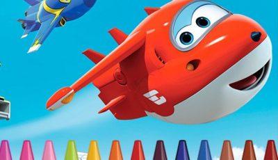 لعبة تلوين سوبر وينجز العاب تلوين اونلاين مجانية Superwings Coloring