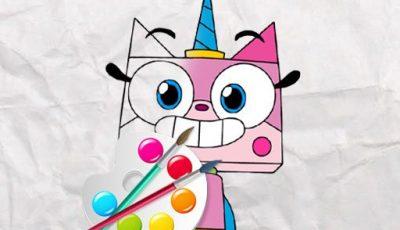 لعبة تلوين يونيكورن كيتى العاب تلوين اونلاين مجانية Unicorn Kitty Coloring Book