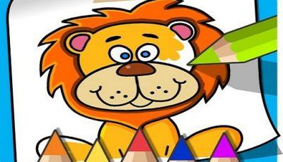 لعبة تلوين للأطفال العاب تعليمية اونلاين مجانية Coloring Book For Kids: Animal Coloring Pages is t
