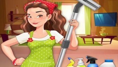 لعبة تنظيف المنزل العاب بنات أونلاين House Cleaning Game