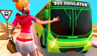 لعبة قيادة حافلة الركاب العاب سيارات اونلاين Passenger Bus Taxi Driving Simulator