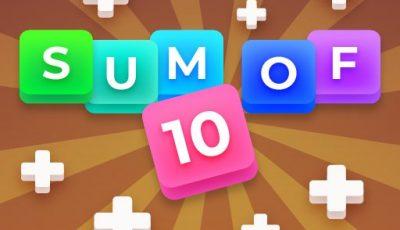 لعبة دمج الأرقام مجموع 10 العاب ألغاز اونلاين Sum of 10: Merge Number Tiles