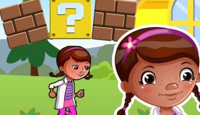 لعبة مغامرة دوك ماكستافينز العاب مغامرات اونلاين Dottie Doc Super Adventure Run : corona virus Shoo