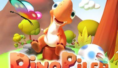 لعبة دينو بيلر العاب اطفال اونلاين مجانية Dino-Piler