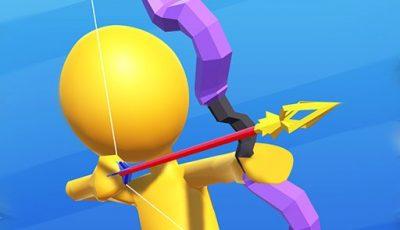 لعبة آرتشر بيرليس العاب رماية اونلاين مجانية Archer Peerless.io