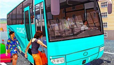 لعبة سائق حافلات الطرق الوعرة العاب سيارات اونلاين Off Road bus Transport Driver: Tourist Coach Sim