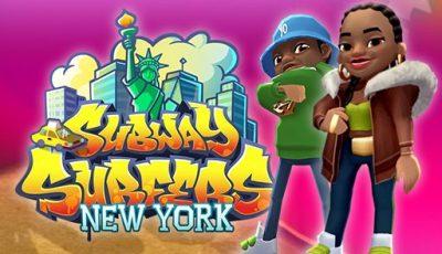 لعبة ساب واى سيرفر نيويورك العاب ساب واى اونلاين المجانية Subway Surfers New York