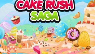 لعبة كيك راش ساغا العاب مطابقة اونلاين مجانية Cake Rush Saga