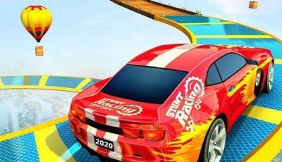 لعبة سباق سيارات ثلاثى الأبعاد العاب سيارات اونلاين مجانية Sky Stunt 3d 2021