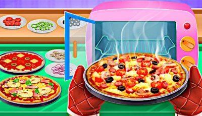 لعبة بيتزا ماستر شيف العاب طبخ اونلاين مجانية للبنات Pizza Master Chef