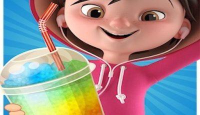 لعبة صنع المثلجات الملونة العاب طبخ اونلاين للبنات Make your Ice Slushy
