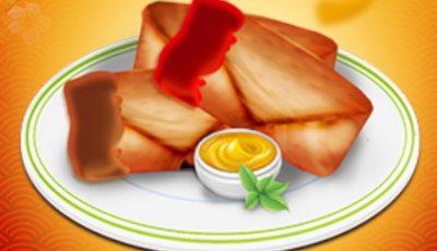 لعبة مطعم الاطعمة اليابانية العاب طبخ أونلاين للبنات Spring Rolls