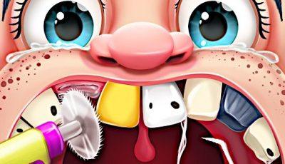 لعبة طبيب الأذن المجنون العاب طبيب اونلاين مجانية Crazy Dentist